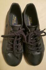 Polo Ralph Lauren Kids'  Black, Size 3 .5  Leather black