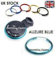 Blue MINI Cooper S ONE Countryman Clubman Coupe Roadster Key Fob Ring Trim ab
