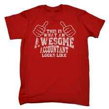 This Is What Awesome Accountant Looks Like Funny Accounting Office T-SHIRT