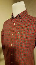 ABERCROMBIE & FITCH 'Muscle Fit' Man's Checked Shirt Size: S VERY GOOD Condition
