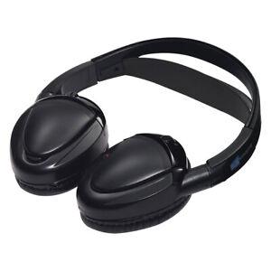 Audiovox MTGHP2CA Dual Channel Wireless Fold Flat Headphones Auto Shut Off