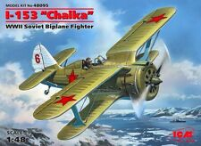 POLIKARPOV I-153 CHAIKA - WW II SOVIET FIGHTER 1/48 ICM BRAND NEW