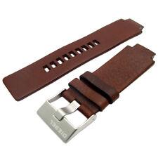 Genuine originale orologio Diesel Cinturino Vera Pelle S/Fibbia in acciaio per DZ1123