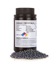 100g Iodine crystals resublimed +99,9%, pure quality product!