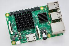 2x Raspberry Pi 2 & 3 (B+) Maxi-Kühlkörper-Set Einfache Montage Kühler RaspPi