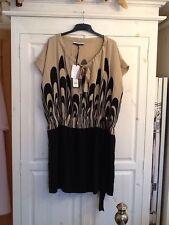 BNWT Stunning Ladies Jaeger 100% Silk Dress, Exclusive For London Fashion Week,