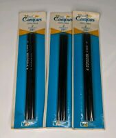 New Old Stock Vintage VENUS Campus #2  Drawing Pencils 3 Packages of 2 Pencils