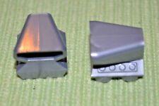 2 ~ Silver 2x2 Car / Auto Motor w/ Blower Bricks ~ Brick ~ New Lego Bricks ~