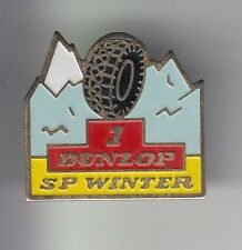 RARE PINS PIN'S .. AUTO CAR PNEU TYRE MONTAGNE NEIGE SNOW SP WINTER DUNLOP 1 ~DD