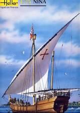 Heller - Nina Nave a vela Christoph Kolumbus Modello Kit - 1:75 NUOVO Aliante