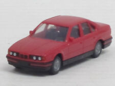 BMW 520i Limousine in himbeerrot, ohne OVP, Wiking, 1:87