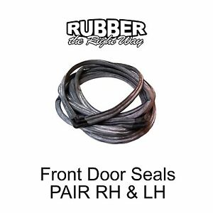 1969 1970 1971 1972 Ford Galaxie / LTD Front Door Seals PR 4 Door Sedan / Wagon