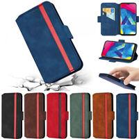 Matte Wallet Leather Flip Case Cover For Samsung S10 S9 S8 Plus A20S A10 A50 A30