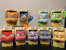 "2019 Ugly Dolls Backpack Clip 4"" Plush.  Set of 9"