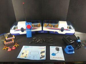 Playmobil  RC Remote Control Train 4011 4016 INCOMPLETE, UNTESTED. RARE ITEM