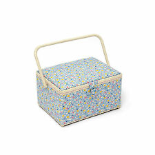 HobbyGift Premium Range Sewing Basket (large size) Ditsy Design HGL152