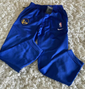 NIKE Golden State Warriors Therma Flex Showtime Pants Sz Youth L Large NWT $50