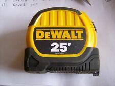 DEWALT 25' TAPE MEASURE RULE LOCKING NEW