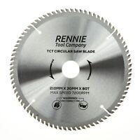 210mm x 80T TCT Circular Wood Saw Blade For Bosch, Makita, Dewalt, Festool Etc