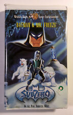 Batman & Mr. Freeze — Subzero VHS