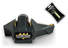 Work Sharp Combo Knife Sharpener con 2 fasce PLUS Ni-Glo Safety Marker