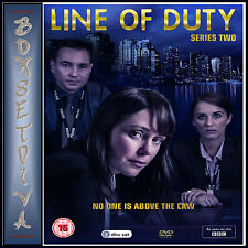 LINE OF DUTY - COMPLETE SERIES 2  ***BRAND NEW DVD  ****