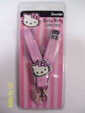 HELLO KITTY MOBILE PHONE STRAP PINK KIDS MOBILE ID CARD LANYARND KEY