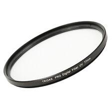 UV Objektiv Filter 77 mm Objektivfilter mit Filterbox