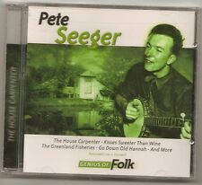 """PETE SEEGER, CD """"THE HOUSE CARPENTER"""" NEW SEALED"""
