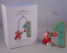Hallmark Christmas Ornament My First Christmas Childs Age Collection 2010 New