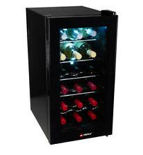 Weintemperierschrank Weinkühler 18 Flaschen Weinkühlschrank Getränkekühlschrank