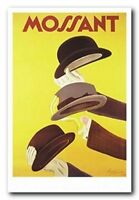Mossant Leonetto Cappiello Vintage Advertising France Wall Decor Art Print 24x36