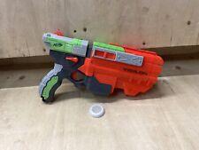 Nerf Elite Vortex Vigilon Disc Blaster , Good working Condition Ammo