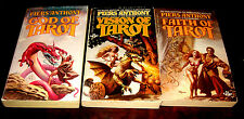 3 books in The Books of Tarot trilogy by Piers Anthony
