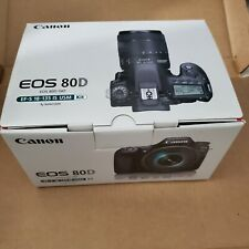 Canon EOS 80D 24.2MP Digital SLR Camera - Black