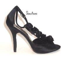 "Women's High Heels (4 1/2"")  Fabulosity Amber Black, Size 8M US."
