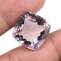 VVS Natural Ametrine 28.40 Cts AAA Deluxe Quality Cushion Cut Certified Gemstone