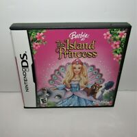Barbie as the Island Princess (Nintendo DS, 2007) Complete Tested & Working