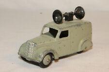 Dinky #34c, 1950's Loud Speaker Van, Grey, Original
