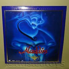 WALT DISNEY HOME VIDEO ALADDIN CAV LETTERBOX DOUBLE LASER DISC LASERDISC LD NTSC