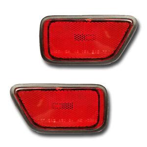 REAR BUMPER RED REFLECTOR LIGHT LEFT N//S FOR HONDA CR-V ACCORD JAZZ