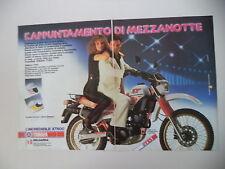 advertising Pubblicità 1984 MOTO YAMAHA XT 600 4V 4 VALVES