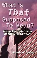 What's That Supposed to Mean? : Using the Catechism in the 21st Century by James
