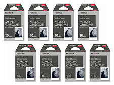 Pellicola Istantanea FujiFilm Instax Mini MONOCHROME Cp.Polaroid/Diana 8x10 foto