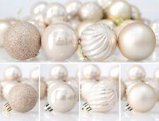 24ct Christmas Tree Ball Set Ornaments Shatterproof Decorations Include Hooks