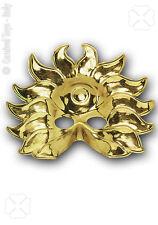 Demi-masque soleil or loup doré 0114 carnaval déguisement  théâtre costume fêtes
