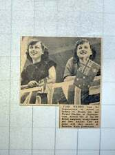 1949 Brenda And Noreen Sheehan Kilburn Emigrate Australia Heberton Queensland