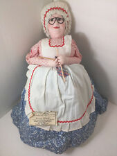 Vintage Russian Doll, Made In Moscow, Tree Topper
