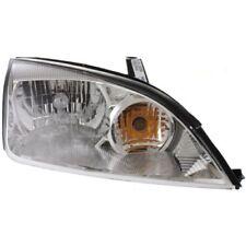 For Focus 05-07, CAPA Passenger Side Headlight, Clear Lens