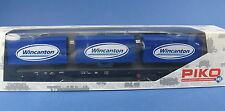 PIKO H0 54818 - Container-Tragwagen, Flachwagen Rgs670 - Wincanton Werbemodell